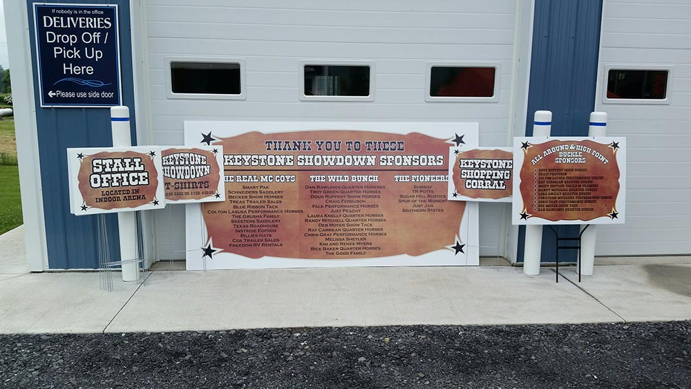 Custom Commercial Amp Business Signage State College Pa